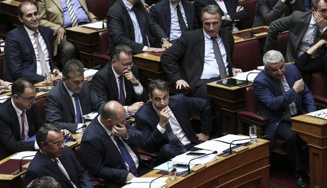 Discussion regarding the upcoming multi - draft bill, at the plenary hall of the Greek parliament, on May 22, 2016 /        ,    ,  22 M, 2016