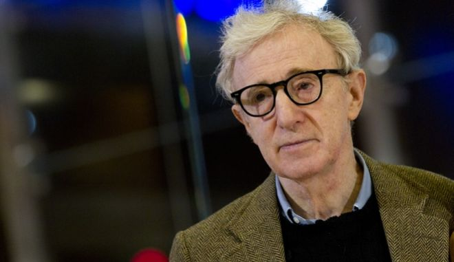 "Director and actor Woody Allen poses on the red carpet of the movie ""To Rome with Love"", in Rome, Friday, April 13, 2012. (AP Photo/Andrew Medichini)"