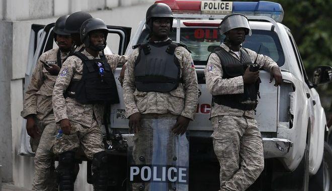 Αστυνομία στην Αϊτή (φωτογραφία αρχείου)