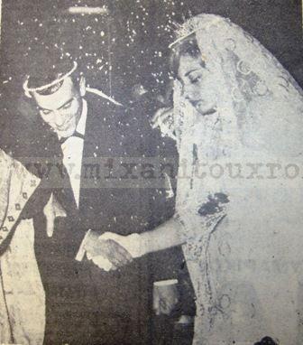 Μηχανή του χρόνου: Βίκυ Μοσχολιού – Μίμης Δομάζος. Γιατί οι μπομπονιέρες από το γάμο τους πουλήθηκαν στη μαύρη αγορά