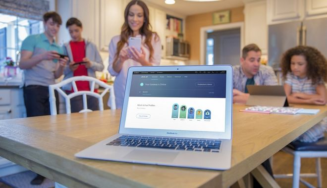 IMAGE DISTRIBUTED FOR COMCAST - On Monday, May 8, 2017, Comcast launched Xfinity xFi, a new and personalized Wi-Fi experience that provides a simple digital dashboard for customers to set up their home Wi-Fi network, find their password, see what devices are connected, troubleshoot issues, set parental controls and pause Wi-Fi access on their home network during dinner or bedtime. (Jeff Fusco/AP Images for Comcast)
