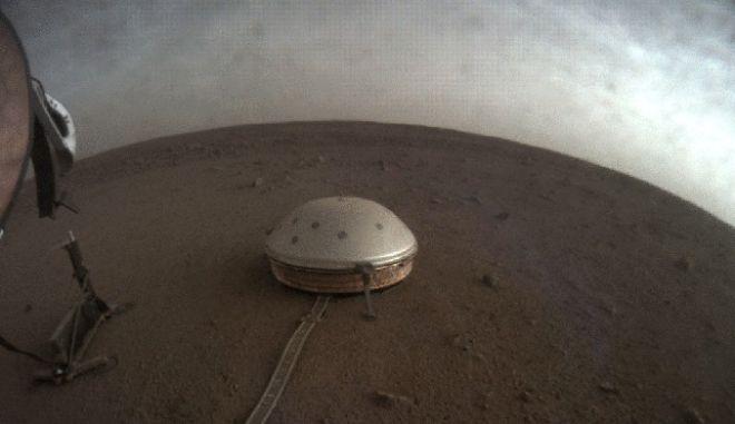 Το όργανο SEIS στην επιφάνεια του Άρη