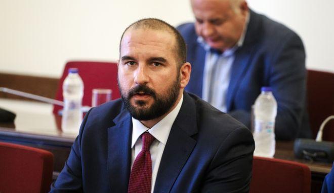 O Δημήτρης Τζανακόπουλος