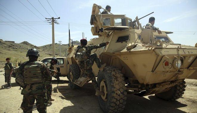 Αμερικανοί στρατιώτες στο Αφγανιστάν