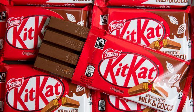 Η σοκολάτα KitKat(Dominic Lipinski/PA Wire(/PA via AP)