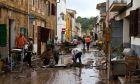 Το χωριό Σαντ Γιόρενκ στη Μαγιόρκα μετά τις σαρωτικές πλημμύρες