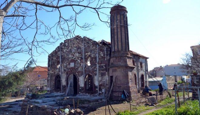 Το Βαλιδέ Τζαμί στη Λέσβο