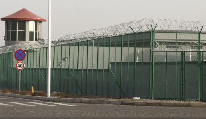 Κινεζικό στρατόπεδο κράτησης για τους Ουιγούρους και για άλλους μουσουλμάνους στη δυτική περιοχή της Κίνας, την Σιντζιάνγκ