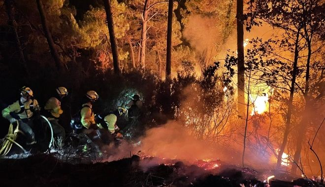 Πυρκαγιά στην Costa del Sol