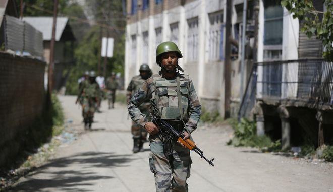 Ινδοί στρατιώτες (φωτογραφία αρχείου)