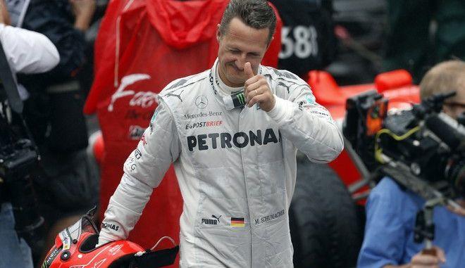 Ο Michael Schumacher