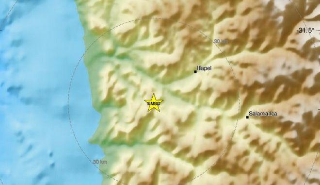 Σεισμός 6 Ρίχτερ στη Χιλή - Έγινε αισθητός εν μέσω νέων διαδηλώσεων