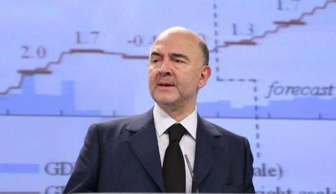 Συγκρατημένα αισιόδοξος ο Μοσκοβισί για συμφωνία στο Eurogroup
