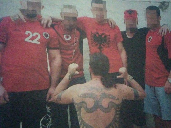 Ημερολόγιο φυλακής: Πυρήνες της Φωτιάς, Ολυμπιακός και αλβανικός αετός μαζί πίσω από τα σίδερα
