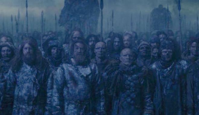 Game Of Thrones: Η πραγματική ταυτότητα των ζόμπι της πρώτης γραμμής