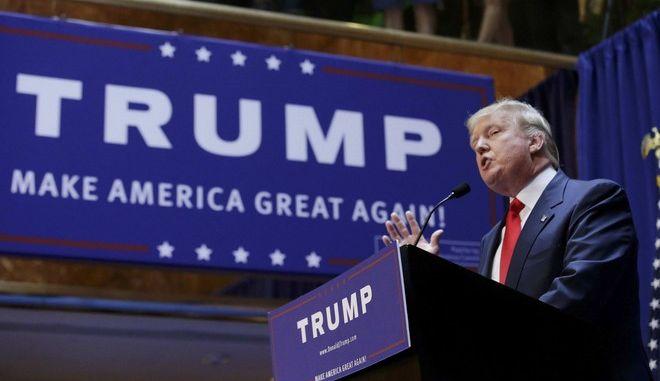 Ο Τραμπ απομακρύνθηκε από προεκλογική εκδήλωση για λόγους ασφαλείας