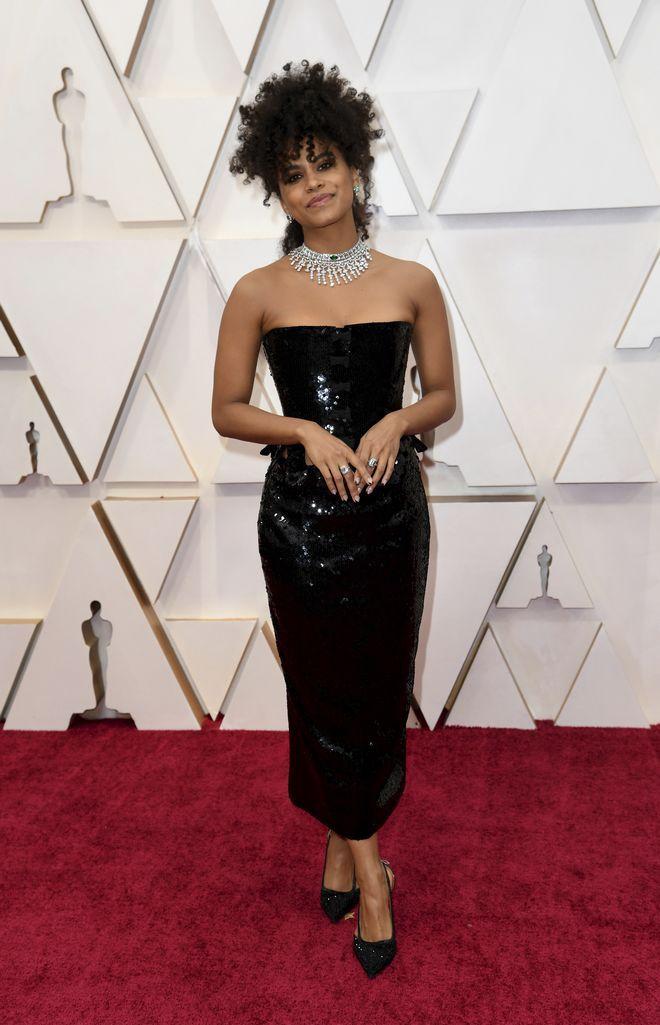 Η ηθοποιός Zazie Beetz στα Όσκαρ 2020