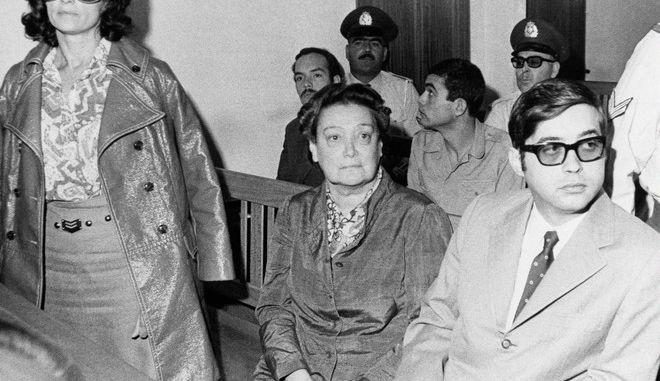 Η Αμαλία Φλέμινγκ στη δίκη της από τη χούντα