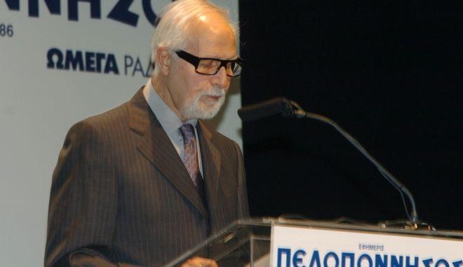Ο εκδότης της εφημερίδας Πελοπόννησος, Σπύρος Δούκας