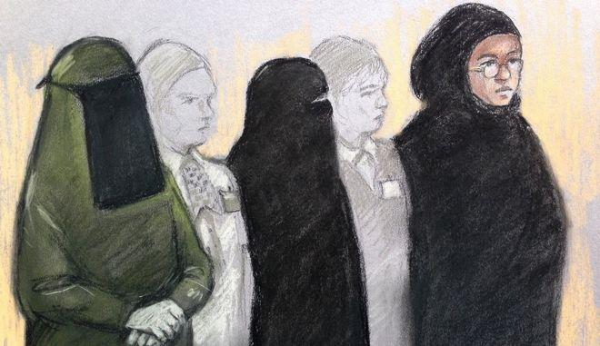 Ισόβια κάθειρξη σε 22χρονη που σχεδίαζε τρομοκρατική επίθεση μαζί με τη μητέρα και την αδελφή της