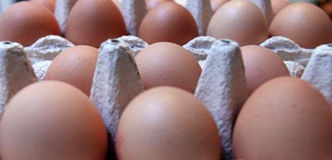 Aυγά σε αγορά