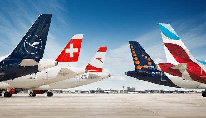 Ο Όμιλος Lufthansa συνδέει 20 ελληνικά αεροδρόμια με 17 προορισμούς