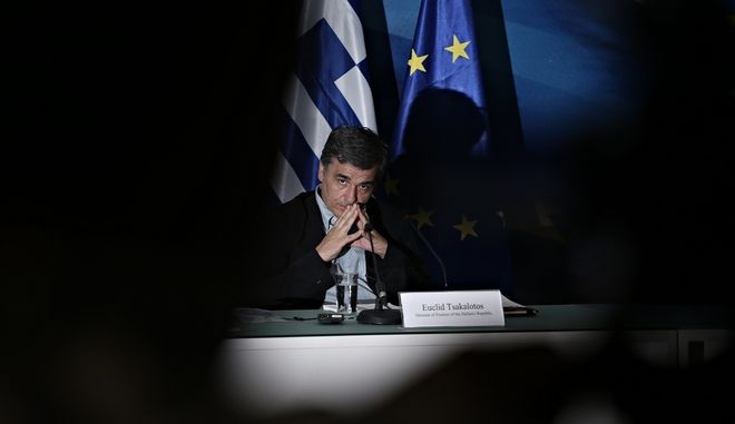 Joint Press conference of the US Treasury Secretary Jack Lew offered and the Greek Minister of Finance Eucleid Tsakalotos, in Athens, on July 21, 2016 /         ,        ,  ,  21 , 2016