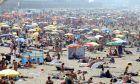 Η παραλία της Οστάνδης, ένα καλοκαίρι πριν απο χρόνια.
