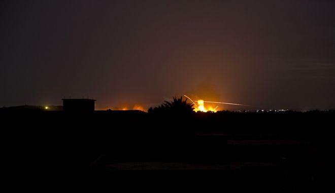 Βομβαρδισμός στη Συρία. Φωτό αρχείου.