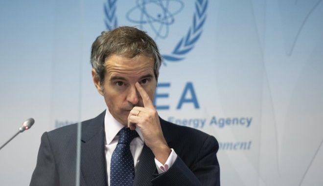 Ο επικεφαλής της Διεθνούς Υπηρεσίας Ατομικής Ενέργειας, Ραφαέλ Γκρόσι