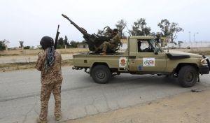 Στρατιωτικές δυνάμεις στην Τρίπολη της Λιβύης