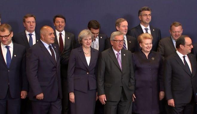 Ο 'Μυστικός Δείπνος' του Brexit, χωρίς τη Μέι