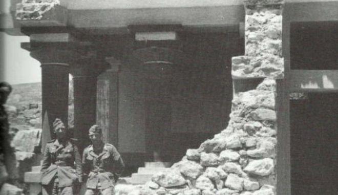 O αρχαιομανής στρατηγός Ringel, που έκλεψε αρχαία από την Κνωσό