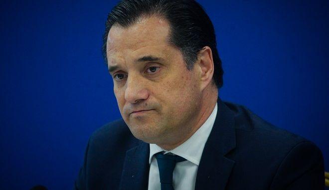 Ο αντιπρόεδρος της ΝΔ, Άδωνις Γεωργιάδης