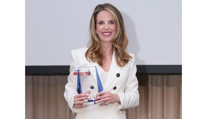 Βραβείο Capital Link CSR Leadership Award 2019 στην κα. Μαριάννα Πολιτοπούλου και την NN Hellas