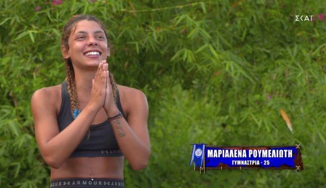 """Η Μαριαλένα στο """"Survivor 4"""""""