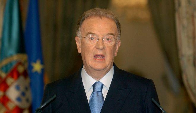 Ο πρώην πρόεδρος της Πορτογαλίας  Ζόρζε Σαμπάιο
