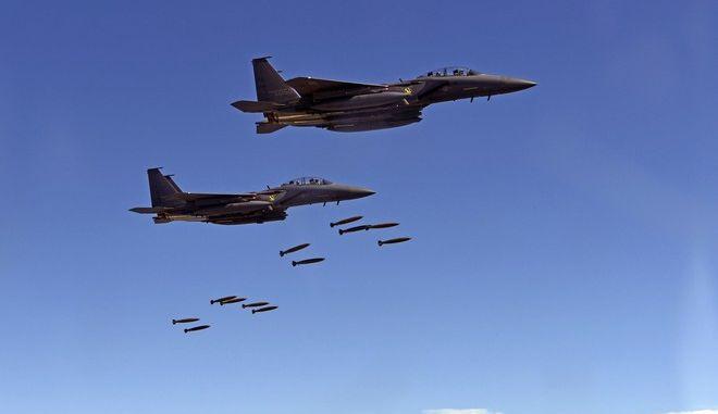 Κοινές ασκήσεις μαχητικών αεροσκαφών ΗΠΑ και Ιαπωνίας