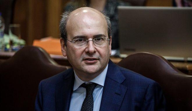 Ο Κωστής Χατζηδάκης στην Επιτροπή Παραγωγής και Εμπορίου