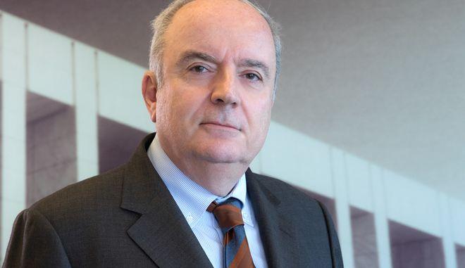 Ο πρόεδρος του Ομίλου ΓΕΚ ΤΕΡΝΑ κ. Γιώργος Περιστέρης