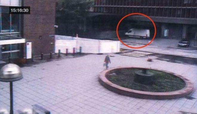 Βίντεο: Ο Άντερς Μπρέιβικ λίγο πριν από την έκρηξη στο Όσλο