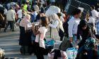 Μεταφορά μεταναστών από τη Μόρια στη Θεσσαλονίκη