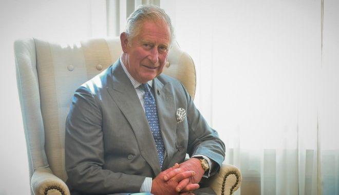 Ο Πρίγκιπας Κάρολος στο Μέγαρο Μαξίμου
