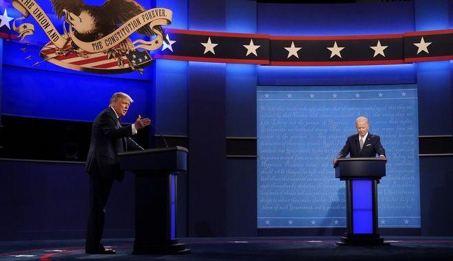 Το πρώτο debate Τραμπ - Μπάιντεν για τις αμερικανικές εκλογές