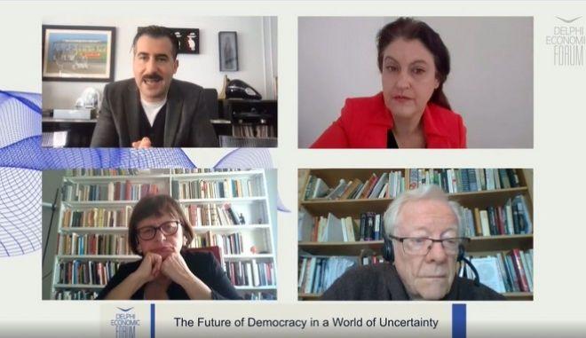 Το Μέλλον της Δημοκρατίας σε έναν Κόσμο Αβεβαιότητας