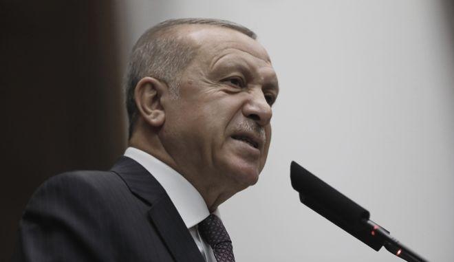 Ο Τούρκος πρόεδρος, Ρετζέπ Ταγίπ Ερντογάν
