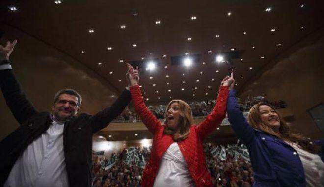 Ανδαλουσία: Νίκη των Σοσιαλιστών, τρίτο το κίνημα Podemos