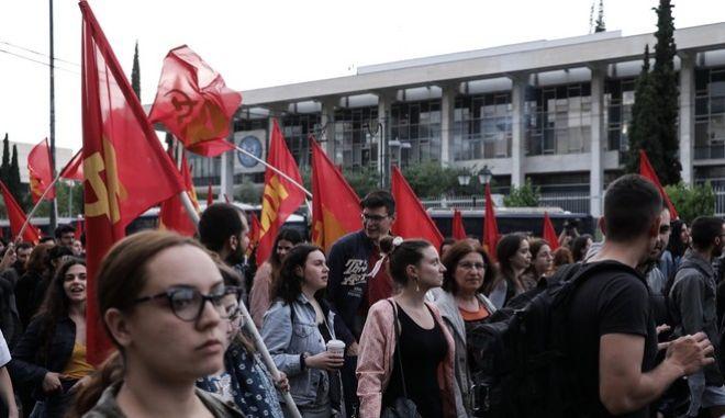 Πορεία του ΚΚΕ, φωτογραφία αρχείου