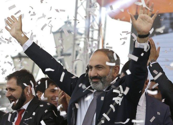 Ο Νικόλ Πασινιάν νέος Πρωθυπουργός της χώρας