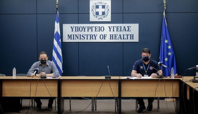 Ενημέρωση από το Υπουργείο Υγείας για τον κορονοϊό